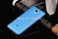 xiaomi mi4 case 0.3mm Ultra Thin frosted xiaomi 4 case Slim Matte Transparent High Qlity Case For XiaoMi 4 Mi4 M4 hot sale