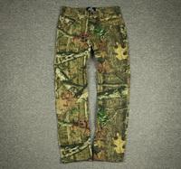 OAK Realtree men's hunting pants Jeans brand Outdoor sports tactical trousers 2 colors send randomly military tactic pants M L