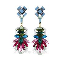 Hot! 2014 New Fashion Jewelry Brincos Femininos Bohemian Dangle Earrings For Women