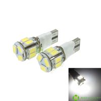 T10 149 168 W5W LED 2-Mode White 5W 11X5630SMD 400-550LM 6000-6500K  for Car Signal Light (DC12-16V)