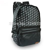 Stars pattern hot sale women outdoors fashion bags backpacks,Japan designer brand school bags for teenagers female laptop bags