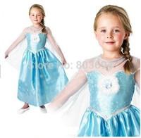retail  Hot selling ! Free shipping children birthday dress Snow Romance girl kids party dress TY-07