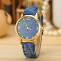 4 Colors New Fashion Watch Women Fabric Strap Watch Women Dress Watch Quarzt Watch AW-SB-1199