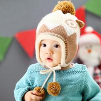 New super cute dinosaur model 2014 Winter knit hats for children MZD-1403