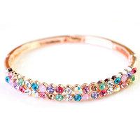 Colorful Crystal Bracelets Jewelry
