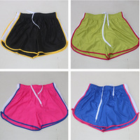 original women's hot shorts with lining dry fit sportswear beach shorts for gym running yoga batting free shipping