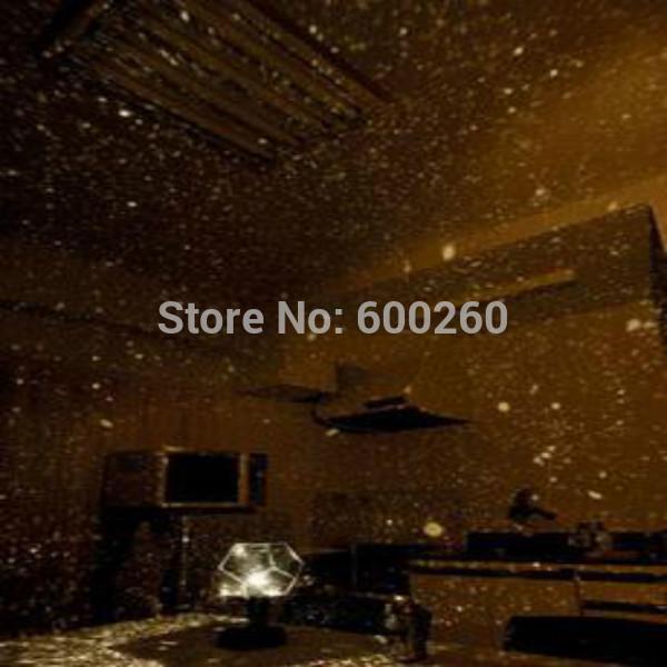 Hot sales Planetarium Star Celestial Projector DIY Lamp Night Sky Light Romantic Party free shipping(China (Mainland))