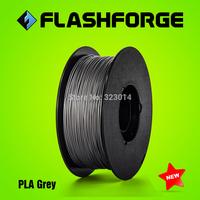 Flashforge 3D printer PLA Grey colour  filaments,diameter 1.75mm,for Creator series.