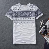 DQ-68 Summer Harajuku Hip hop t shirts Fashion Korean Print Short sleeve t-shirt Rock dsq saia Men tshirt Clothing
