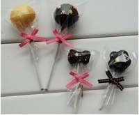 200pcs/lot Samll Plastic food bags, Clear Cellophane Cake Pop Bags  Lollipop Bakery Gift Cookie Packaging Packing  Free shipping