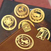 Ann korea stationery dream lace decoration metal bookmark exquisite mini cutout Bookmarks