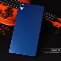 For Sony  Xperia Z3 Glossy Plastic Case Metalic Spray Painting Ultrathin Hard Cover For SONY Xperia Z3 L55T  Phone Cases