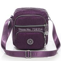 women's messenger bags made of washed nylon fabric casual water wash nylon small handbag 3 colors B270