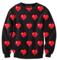 Women Hoody Digital printing 3D Snowman Red Heart Fashion Womens Tops Sweatershirt Pullover Hedging Sweater Saia Feminina