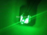 100X T10 5SMD DC 12V 1W 5050 5 SMD 192 168 194 W5W white/blue/red/green/yellow/pink Xenon LED Side Light Wedge Bulb Lamp For Car