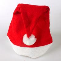 10pcs/lot Christmas Ornaments Adult Ordinary Christmas Hats Santa Hats Children Cap For Chiristmas party Props Free Shipping