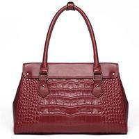 Guaranteed Genuine Leather Bags Women Handbags Designers Messenger Bags Women Shoulder Bag Tote Crocodile Leather Handbag 2015