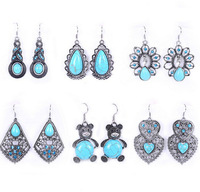 silver earrings pendientes earrings for women