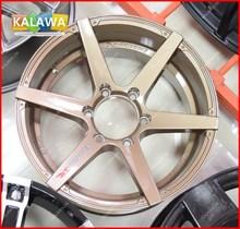 4x 17 inch Alloy Wheel Racing Wheel Rims (17x8.5inch) H*PCD:6*139.7 GUNMETAL V06 Emotion-R Freeshipping GGG(China (Mainland))