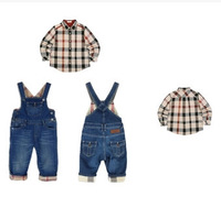 New Arrive!Baby Boy Autumn Spring Clothes Baby clothing sets 2pcslong sleeve Shirt+Pants newborn sets Free Shipping