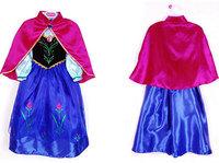 New 2014 Baby girls frozen dress, vestidos de menina,clothing set,anna&elsa summer dress,kids dress, 13 kinds style,elsa dress