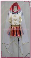 Hot Sale Custom Made Love Live Sonoda Umi SR Fairy Version Cosplay Costume