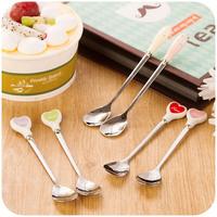 Advanced stainless steel spoon tableware cartoon child long-handled spoon k2670