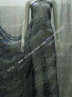 High Quality Beautiful Printing 100%Pure  Silk Chiffon Fabric By Meter C0847