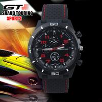 Hot Sale GT F1 Watch Men's Sports Watch Luxury Brand Silicone Strap ,Fashion Quartz Movement Men Military Wristwatch
