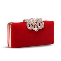 Hot Sale! 2014 Brand New Fashion Austrain crystal Luxury diamond wedding clutch evening bags party clutches purse handbag