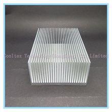High power 100x69x36mm radiator Aluminum heatsink Extruded heat sink for power amplifier LED heat dissipation