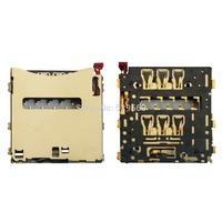 10pcs Original For Xperia Z2 D6502 D6503 L50w   Sim Card Slot Holder Reader Tray Part  Free shipping