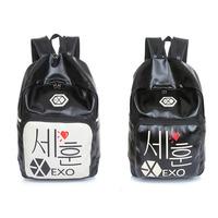 Men's Women backpack high-capacity mochila kippling feminina PU travel bag school bags for teenagers masculina mochilas laptop