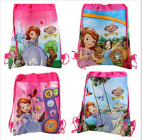 sofia cartoon children's backpack school bags hot selling uhki014