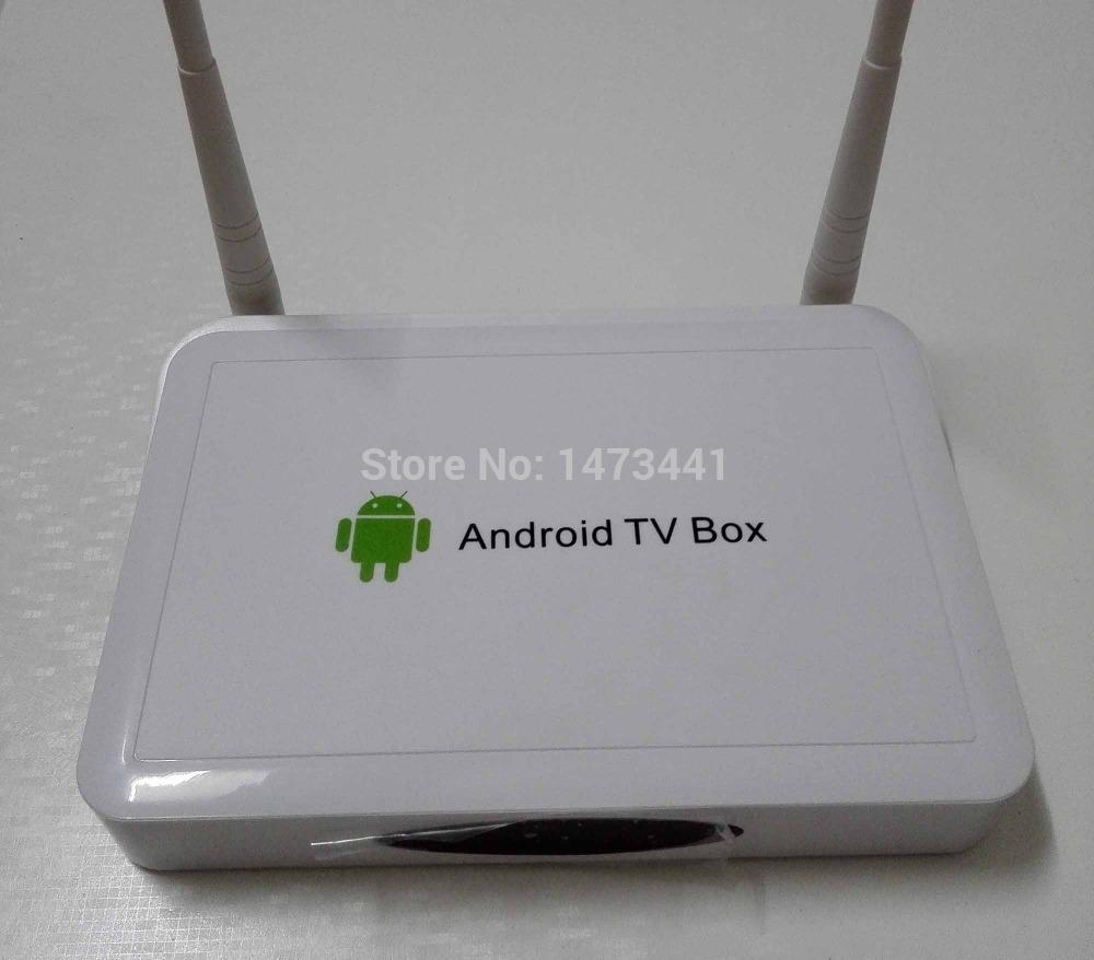 Android 4.2 tv kutusu full hd 1080p çift çekirdekli medya oynatıcı
