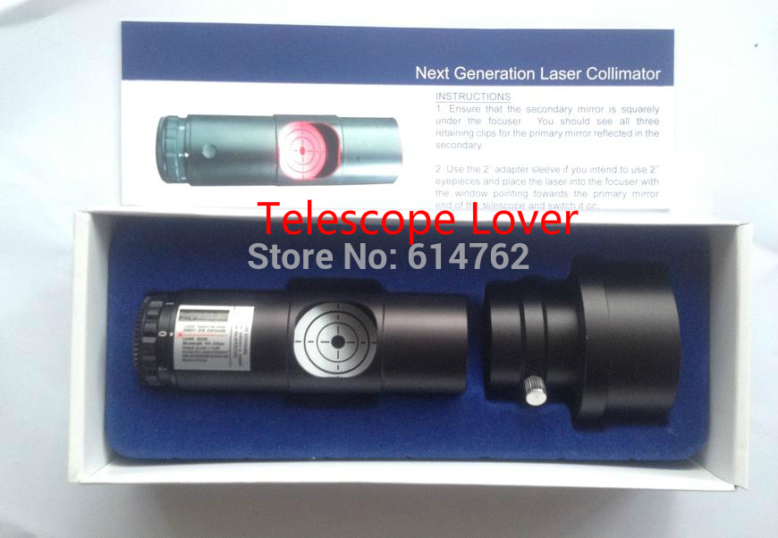 Reflector Telescope Collimation 1 25 Quot Laser Collimator With Sleeve For Newtonian Reflector Telescope 2 Quot
