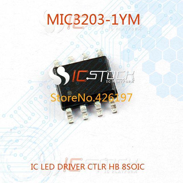 MIC3203-1YM IC LED DRIVER CTLR HB 8SOIC 3203 MIC3203 3pcs(China (Mainland))