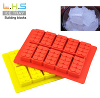 220sets Silicone Ice Cube Trays Mold Building block buick Shape Ice Maker Case Mold  Ice Cream Tools Machine
