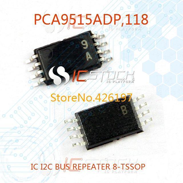 PCA9515ADP-118 IC I2C BUS REPEATER 8-TSSOP PCA9515ADP 9515 PCA9515 10pcs(China (Mainland))
