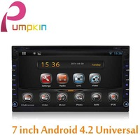 Universal 7 inch 2 din Android 4.2 Car DVD player GPS Navigation+pc+Radio+1.6GB CPU+DDR3+Autoradio+3G+car aduio dvd automotivo