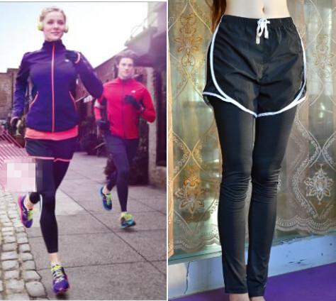 Girl tight runner shorts
