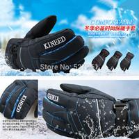 New Professional Outdoor Sports Winter Windproof Men Thermal  Motorcycle Ski Snow Snowboard Gloves Men/Guy-Pop!!