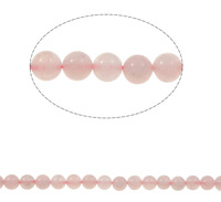 Free shipping!!!Rose Quartz Bead,New Year Gift, Round, 6mm, Hole:Approx 1.5mm, Length:Approx 15.5 Inch, 10Strands/Bag