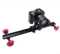 DEBO 60cm 5D2 SLR camera photography slider rail car wheel car drift car desktop silent