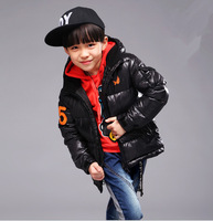 Kids boys winter 2014 new wave of big virgin child padded cotton jacket Korean version of the thick cotton-padded jacket baby