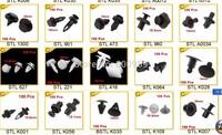 "Plastic Rivets 7mm/0.3"" Hole Diamter Screws 100 PCS/Pack For Car Styling"