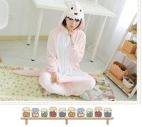 Pink Dinosaur Adults Pajamas All in One Pyjama Animal Suits Cosplay Adult Winter Garment Cute Cartoon Animal Onesies Pajamas