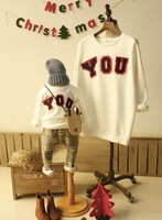 Free Shipping Fashion New Family clothing sets for mother daughter for mother son for mother kids clothes for the family