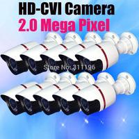 1080P HD CVI 2.0 Megapixel Analog CCTV Camera system IR Day and night vision Waterproof Bullet Security Camera