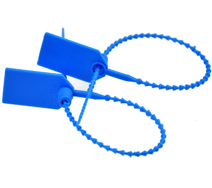 50pcs DIY Handmade Accessories High Security Seals Ties Plastic Logistics Container Steel Padlock Ties Free Shipping # JC189(China (Mainland))
